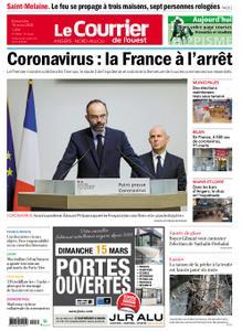 Le Courrier de l'Ouest Angers – 15 mars 2020