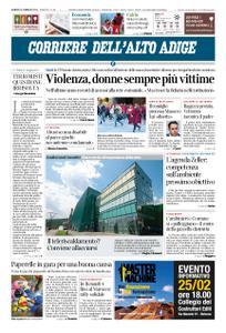 Corriere dell'Alto Adige – 15 febbraio 2019