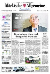 Märkische Allgemeine Westhavelländer - 07. Oktober 2017