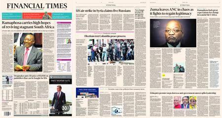 Financial Times Europe – 16 February 2018