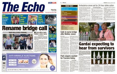 Evening Echo – April 20, 2019