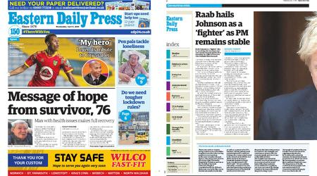 Eastern Daily Press – April 08, 2020