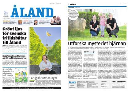Ålandstidningen – 13 juni 2020