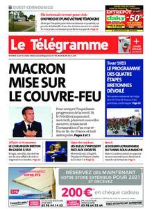 Le Télégramme Ouest Cornouaille – 15 octobre 2020