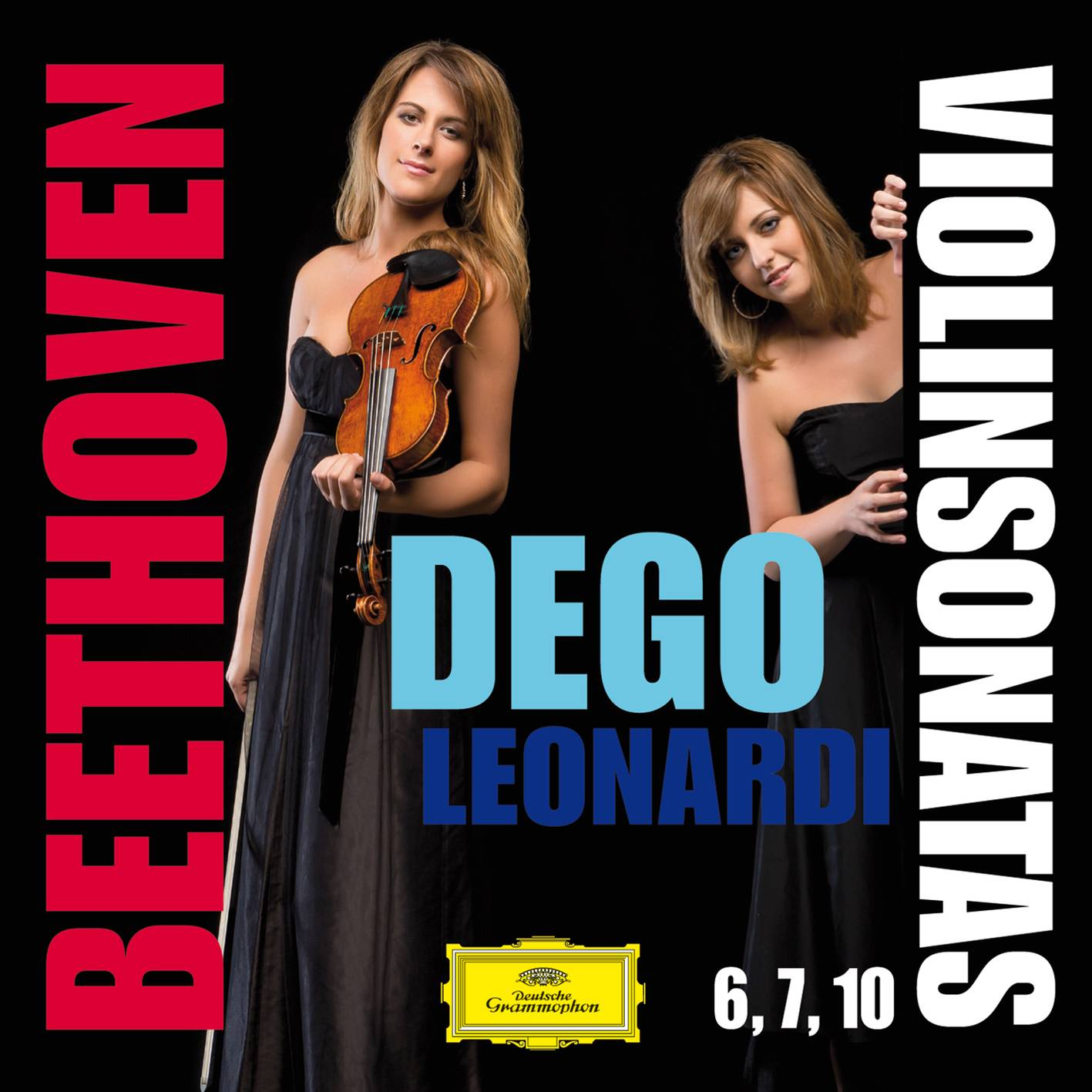 Francesca Dego & Francesca Leonardi - Beethoven: Violin Sonatas Nos. 6, 7 & 10 (2015) [Official Digital Download 24/96]