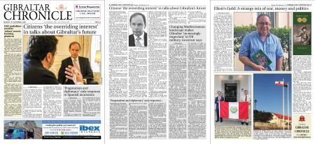 Gibraltar Chronicle – 14 September 2020