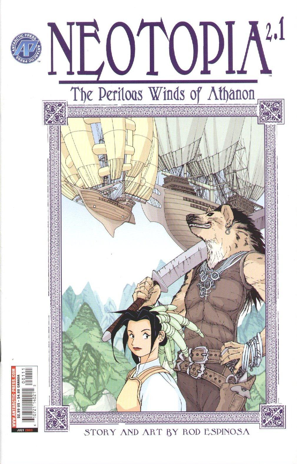 Neotopia v2 - The Perilous Winds of Athanon 001-005 (2003) Neotopia v2 01 (2003) (ed=c2c