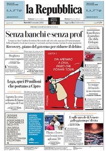 la Repubblica - 15 Settembre 2020