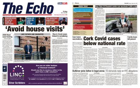 Evening Echo – March 26, 2021