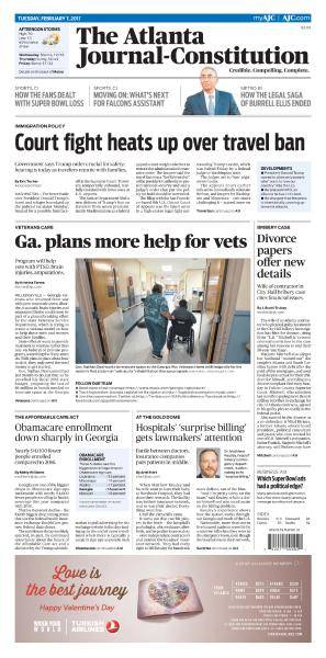 The Atlanta Journal-Constitution - February 7, 2017