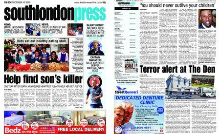 South London Press – October 10, 2017
