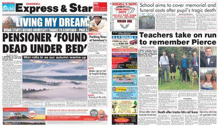 Express and Star Sandwell Edition – October 10, 2017