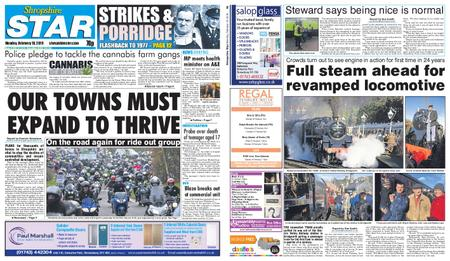 Shropshire Star Shrewsbury Edition – February 18, 2019