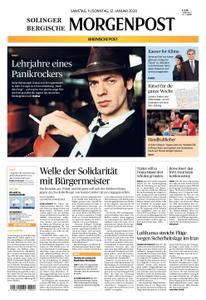 Solinger Morgenpost – 11. Januar 2020