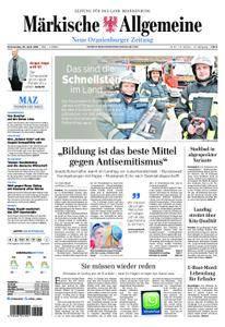 Neue Oranienburger Zeitung - 26. April 2018