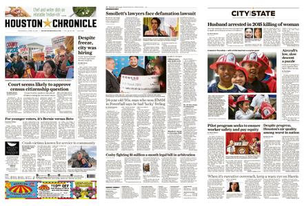 Houston Chronicle – April 24, 2019