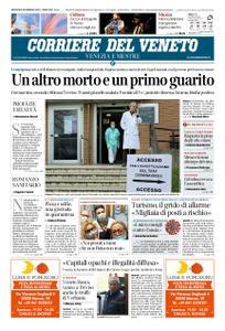 Corriere del Veneto Venezia e Mestre – 26 febbraio 2020
