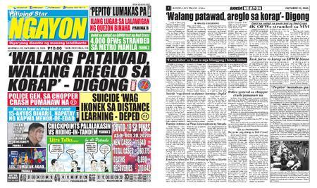 Pilipino Star Ngayon – Oktubre 21, 2020