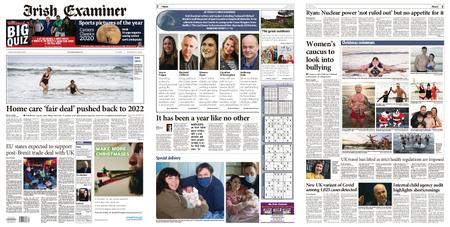 Irish Examiner – December 26, 2020