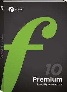 Forte Notation FORTE 10 Premium 10.2.0 Portable