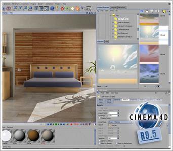 Cinema 4D ver. 9.5 Studio Bundle