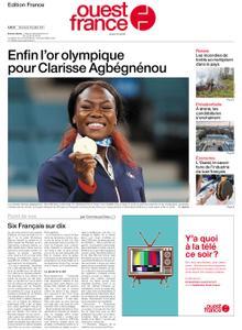 Ouest-France Édition France – 28 juillet 2021