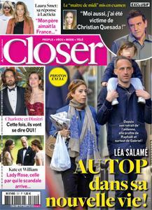Closer France - 05 avril 2019