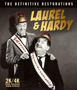 Laurel & Hardy - The Definitive Restorations (1927-1937) + [Bonus Extras]