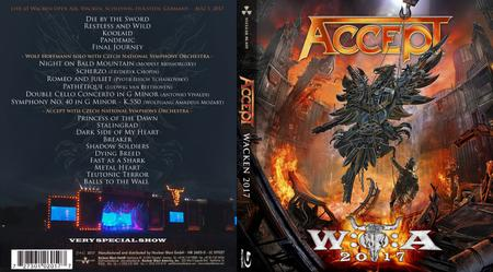 Accept - Symphonic Terror: Live at Wacken 2017 (2018) [Blu-ray, 1080p]