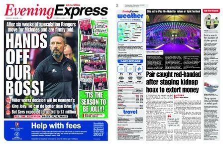 Evening Express – December 06, 2017
