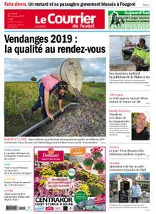 Le Courrier de l'Ouest Angers – 25 octobre 2019