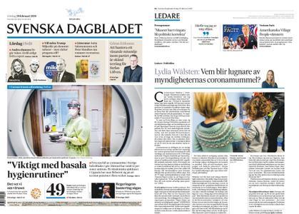 Svenska Dagbladet – 29 februari 2020