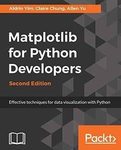 Matplotlib for Python Developers: Effective techniques for data visualization with Python