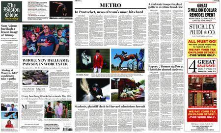 The Boston Globe – August 18, 2018