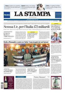 La Stampa Torino Provincia e Canavese - 28 Maggio 2020