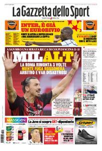 La Gazzetta dello Sport Roma – 27 ottobre 2020