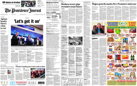 The Providence Journal – November 27, 2018
