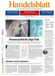 Handelsblatt - 09. April 2019