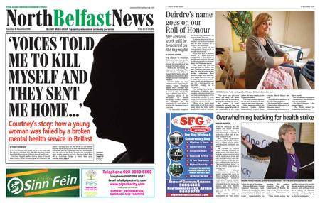 North Belfast News – November 16, 2019