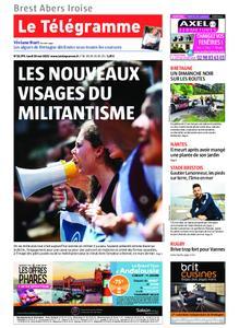 Le Télégramme Brest Abers Iroise – 20 mai 2019