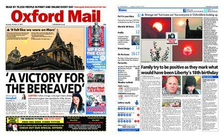 Oxford Mail – October 17, 2017