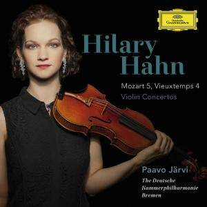 Hilary Hahn - Mozart & Vieuxtemps: Violin Concertos (2015) [TR24][OF]