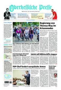 Oberhessische Presse Marburg/Ostkreis - 10. Juli 2018