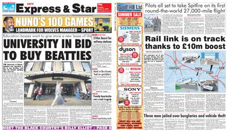 Express and Star City Edition – August 06, 2019