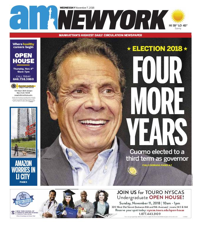 AM New York - November 07, 2018