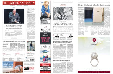 The Globe and Mail – August 30, 2019
