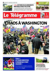 Le Télégramme Brest Abers Iroise – 07 janvier 2021