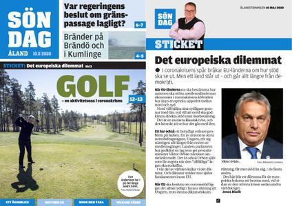 Ålandstidningen – 10 maj 2020