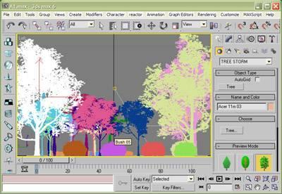 Onyx Treestorm 5.9 Plugin 32/64bit For Max9/2008 + Tree Library