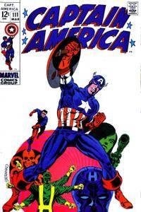 Captain America V1 111 1969